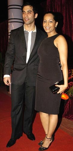 Kushal Punjabi and his fiance Meghna Naidu