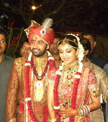 Meet Mr and Mrs Kundra.