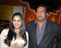 Ramya and Prakash Raj