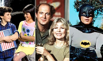 Scenes from The Wonder Years, MASH and Batman