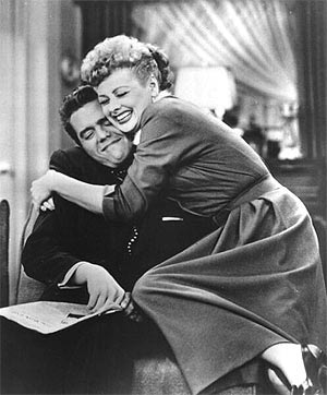 A scene from I Love Lucy