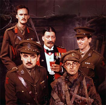 A scene from Blackadder