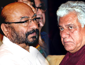 Govind Nihalini and Om Puri