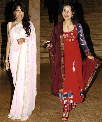 Priyanka Kotari and Sameera Reddy