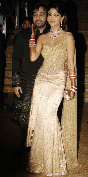 Raj Kundra and Shilpa Shetty