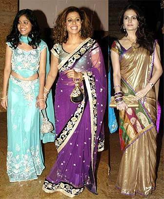 Ziah, Tanaz Irani and Monica Bedi