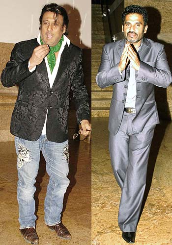 Jackie Shroff and Suniel Shetty