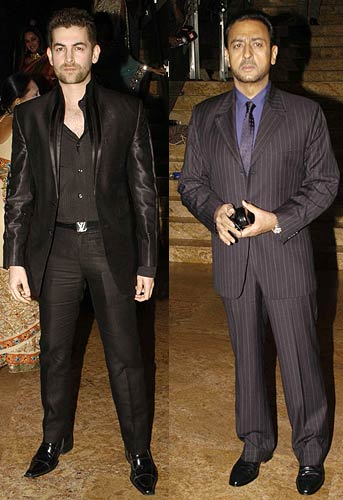 Neil Nitin Mukesh and Gulshan Grover
