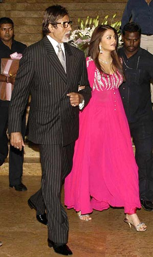 Amitabh Bachchan and Aishwarya