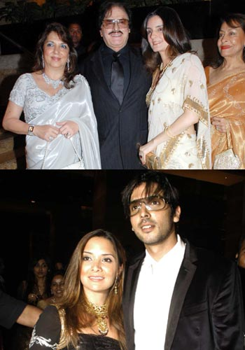 Shilpa Shettys Star Studded Wedding Reception Rediff Movies