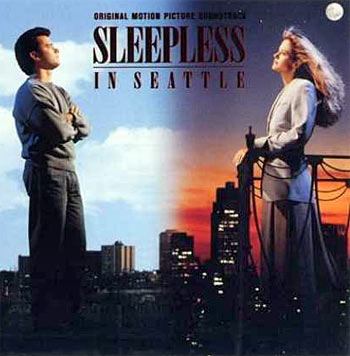 A poster of Sleepless In Seattle