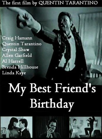 A poster of My Best Friend's Birthday