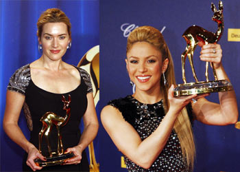 Kate Winslet and Shakira