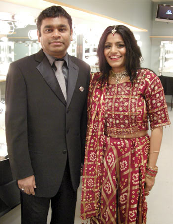 A R Rahman and Falu