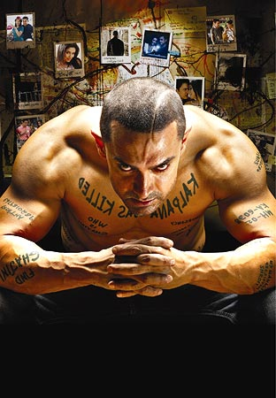 Aamir Khan in a scene from Ghajini