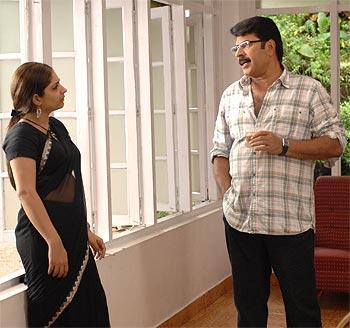 Paleri Manikyam: Oru Pathirakolapathakathinte Katha (film) First Look Mammootty in Paleri Manikyam Rediffcom Movies