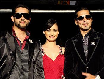 Aftab Shivadasani, Dia Mirza and Dino Morea