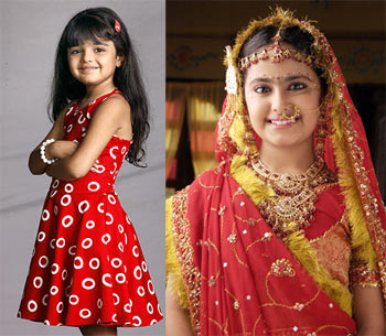 Zaynah and Avika Gor