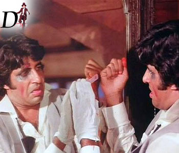 A scene from Amar Akbar Anthony