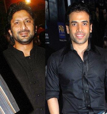 Arshad Warsi and Tusshar Kapoor