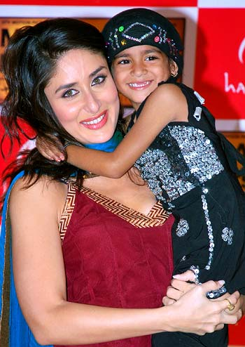 Kareena Kapoor with an unidentified child