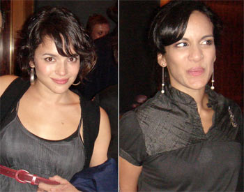 Norah Jones and Anoushka Shankar