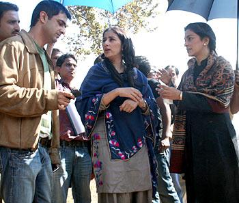 Sanjay Suri, Manisha Koirala and Juhi Chawla