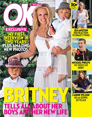 Britney and her kids