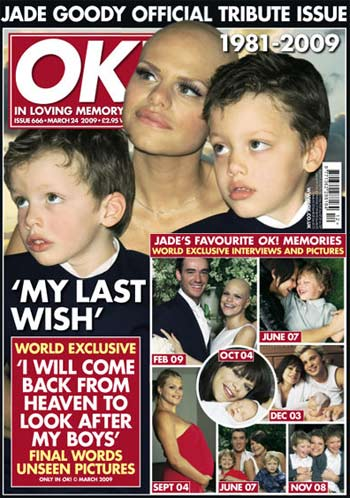 Jade Goody and her sons
