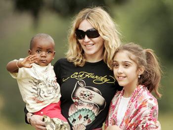 David, Madonna and Lourdes