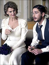 Julie Christie and Shia LaBeouf