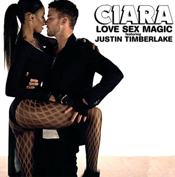 Ciara and Justin Timberlake