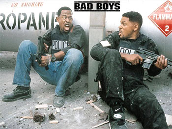 A scene from Bad Boys