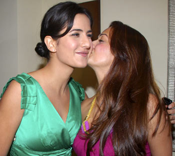 Katrina Kaif and Amrita Arora