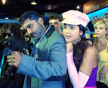 A scene from Jaggubhai