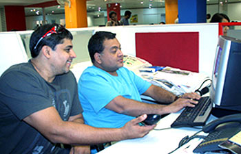 Cyrus Broacha and Kunal Vijaykar