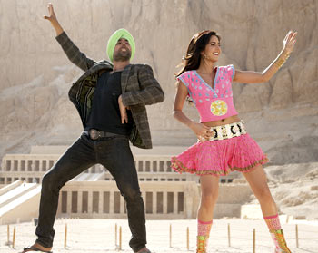 A scene from Singh is Kinng