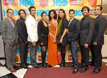 Ian Wile, Simon Taufigue, Samrat Chakrabarti, Anadil Hossain, Amelia Hanibelsz, Shibani Joshi, Maulik Pancholy and Vivek Tiwary