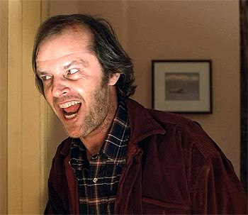 A scene from The Shining