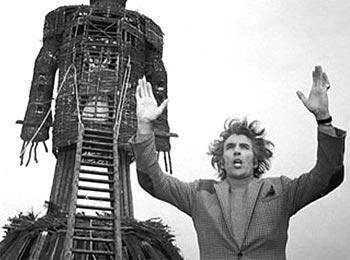 A scene from The Wicker Man