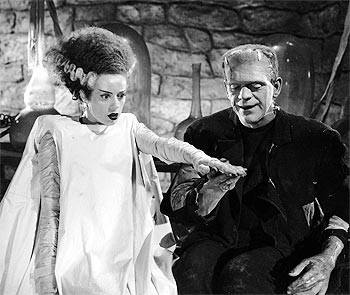 A scene from Bride of Frankenstein