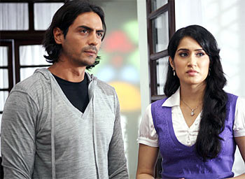Arjun Rampal and Sagarika Ghatge in Fox