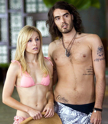 Kristen Bell and Russell Brand
