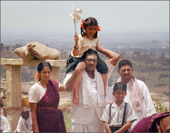 A scene from Kanjeevaram