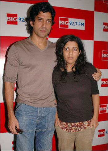 Farhan and Zoya Akhtar