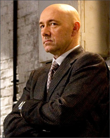 Kevin Spacey as Lex Luthor in a scene from Superman Returns