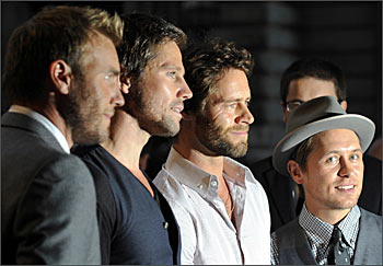 Gary Barlow, Howard Donald, Jason Orange and Mark Owen