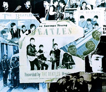 The front cover of The Beatles new album, 'Anthology'