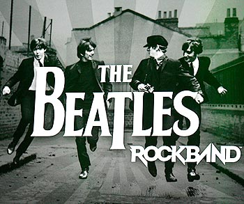 The Beatles are shown in a scene from the new video game 'The Beatles: Rock Band'
