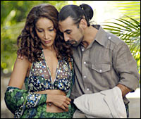 Sofia Hayat and Raji James in The Unforgettable